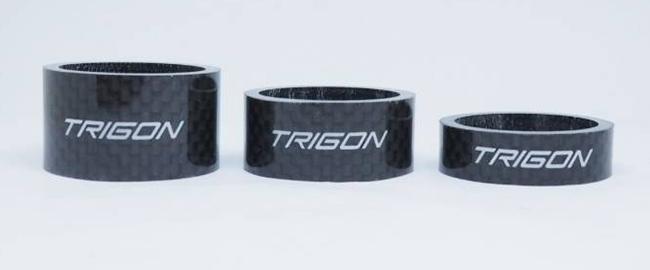 แหวนรองคอ TRIGON คาบอนแท้