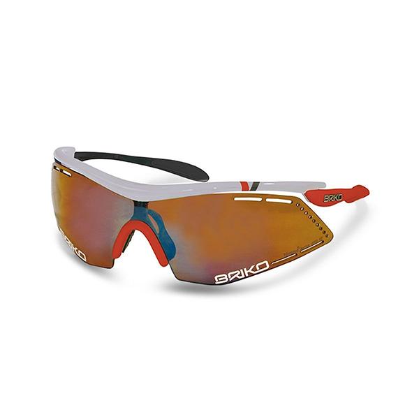 แว่นตา BRIKO รุ่น Endure Pro Team สีขาว/แดง/ดำ