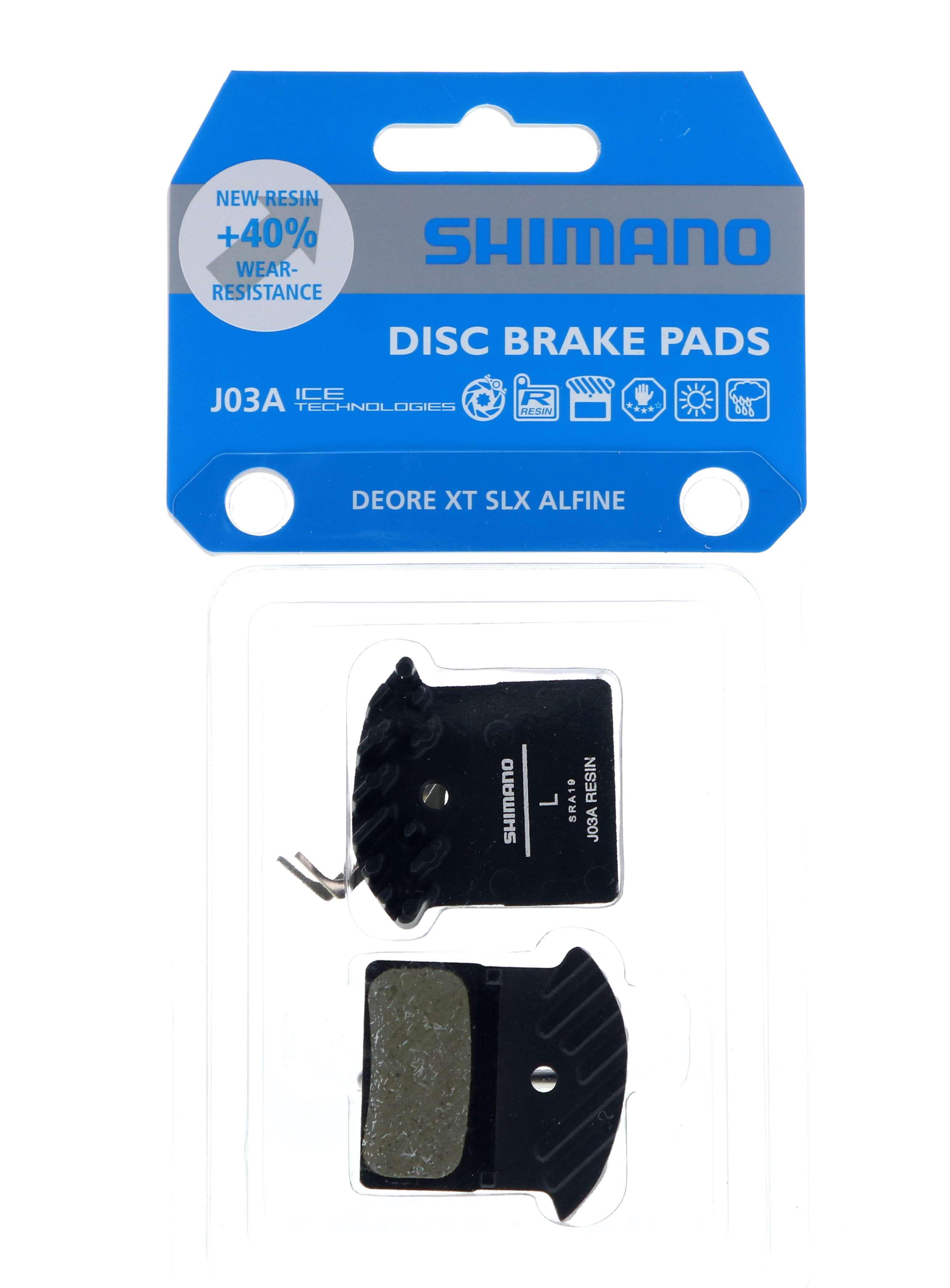 ผ้าเบรคดิส SHIMANO J03A XT BR-M8100 [RESIN]