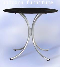 โต๊ะอาหาร ขาโค้งลายน้ำพุ รุ่น  T-06