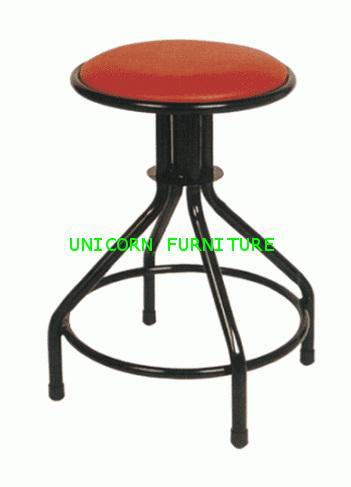 เก้าอี้ สตูลกลม บุนวม รุ่น UN-159
