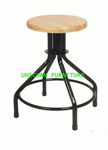 เก้าอี้ สตูลกลม เบาไม้ รุ่น UN-160