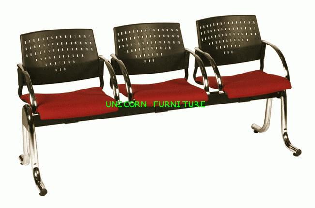เก้าอี้พักคอย เก้าอี้แถว รุ่น UN-619 แบบ 2 ,3 , 4 ที่นั่ง