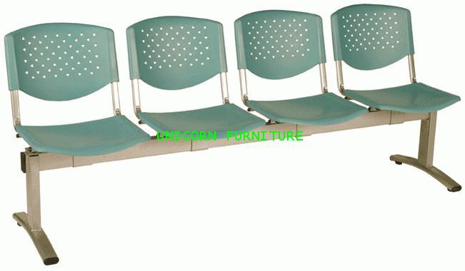 เก้าอี้พักคอย เก้าอี้แถว รุ่น UN-640 แบบ 2 ,3 , 4 ที่นั่ง