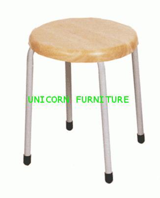เก้าอี้อาหาร เก้าอี้หัวโล้น รุ่น UN-166