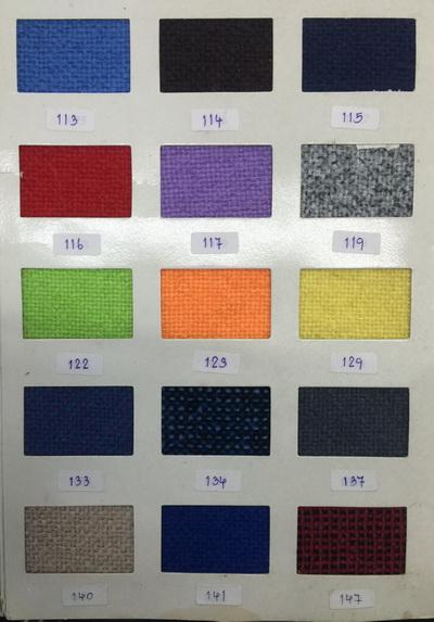ตัวอย่างสี ผ้าเก้าอี้สำนักงาน 2