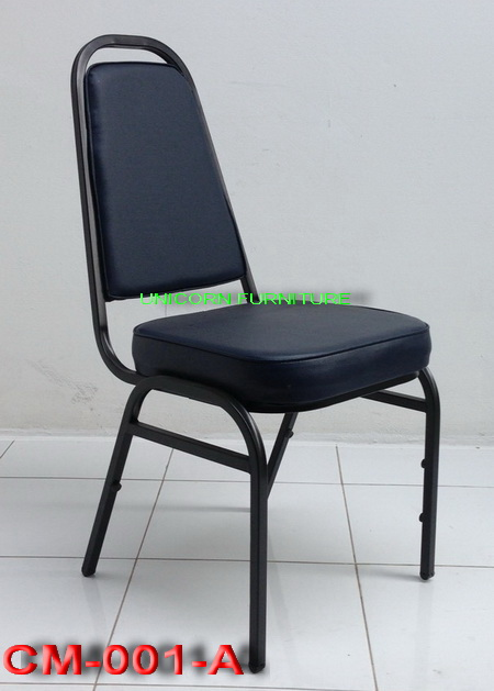 เก้าอี้จัดเลี้ยง รุ่น CM-001AP รุ่นโครงมาตรฐานโรงงาน (รัดขารูป A )