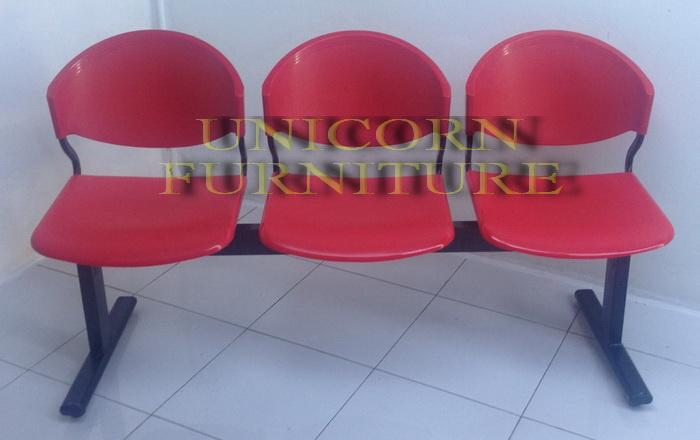 เก้าอี้แถว แป๊ปรูปไข่ รุ่น CLF-714-3S