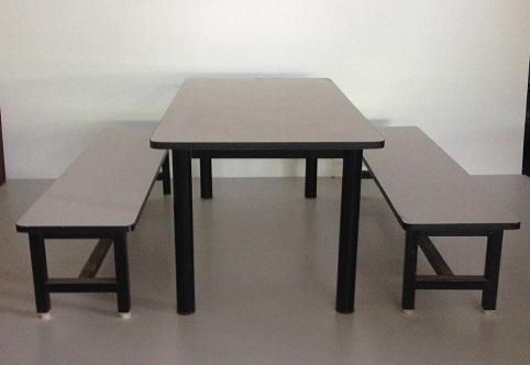 โต๊ะอนุบาล โต๊ะโรงอาหารเด็ก 6ที่นั่ง 2