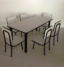 โต๊ะอนุบาล แบบกลุ่ม รุ่น ปังปอนด์