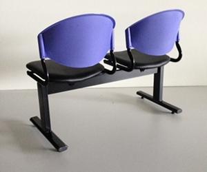 เก้าอี้แถวเบาะนวม2ที่นั่งรุ่น CLF7PV 2