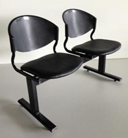เก้าอี้แถวเบาะนวม2ที่นั่งรุ่น CLF7PV 3