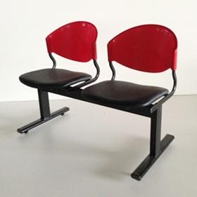 เก้าอี้แถวเบาะนวม2ที่นั่งรุ่น CLF7PV 5