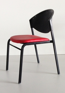 เก้าอี้โพลีเบาะนวม รุ่น CP-03-PV-P