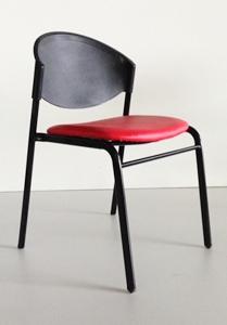 เก้าอี้โพลีเบาะนวม รุ่น CP-03-PV-C