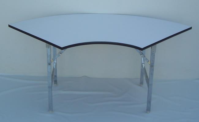 โต๊ะขาพับ โต๊ะประชุม Conference table โต๊ะหน้าขาว แบบเหลี่ยม หนา 19มิล 5
