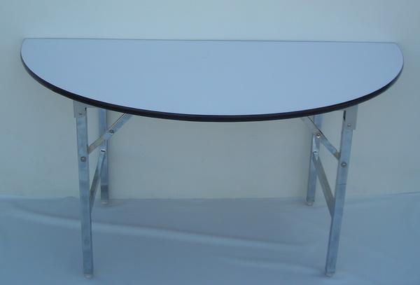 โต๊ะขาพับ โต๊ะประชุม Conference table โต๊ะหน้าขาว แบบเหลี่ยม หนา 25 มิล 4