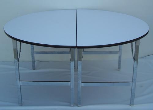 โต๊ะขาพับ โต๊ะประชุม Conference table โต๊ะหน้าขาว แบบเหลี่ยม หนา 25 มิล 5