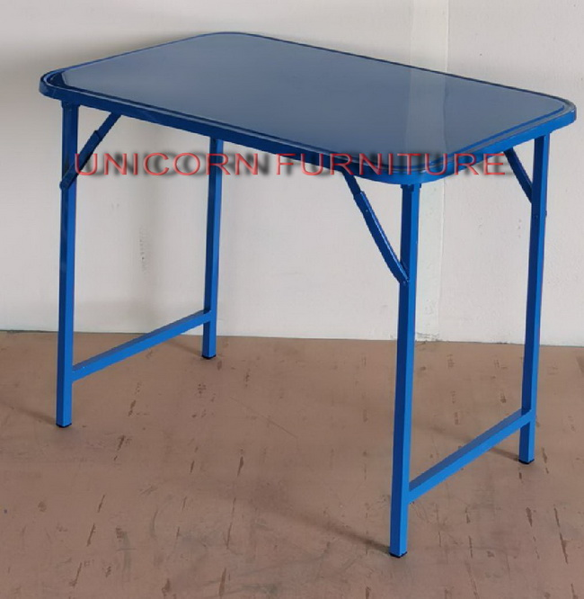 โต๊ะพับเหล็ก ขาพับได้ ขนาด 3 ฟุต และ 4 ฟุต