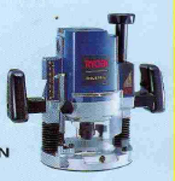 เราท์เตอร์ไฟฟ้า หรือเครื่องทำบัวไฟฟ้า (routers) ยี่ห้อ ryobi รุ่น r-500n