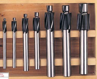 Industrial HSS Counterbores sets model KEN-021