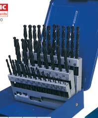 ดอกสว่านเจาะเหล็ก แบบชุด(High speed Steel Roll Forged Jobber Drills Model SEN-025