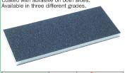 Abrasive coated sponges-Double sided pads model YRK-201