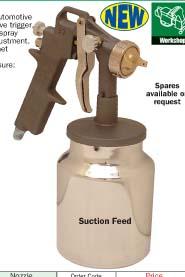 กาพ่นสี (Air Spray Guns) model KBE-259