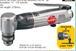สว่านลมแบบงอ(10 mm reversible angle drill)/KBE-270