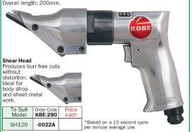 กรรไกรลม(Rapid cutting metal shear)/KBE-270