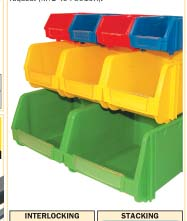 กล่องใส่ของ Plastic Storage Bins/MTL-404