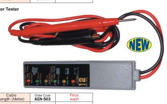 Battery and Alternator Tester/KEN-503