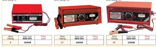 ตู้ชาร์จแบตเตอรี่ Battery Startercharger/KEN-503
