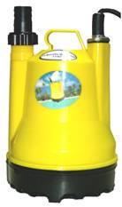 ปั้มน้ำ แบบ ปั๊มแช่พลาสติก submersible utility pump/ZUZ-83/1