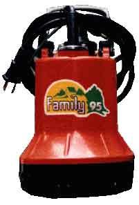 ปั๊มน้ำ แช่พลาสติก 1quot; submersible pump/ZUZ-85