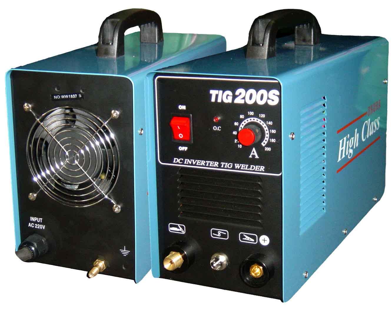 ตู้เชื่อมอาร์กอน inverter DC. tig welding machine TIG 200S/OKU-H16