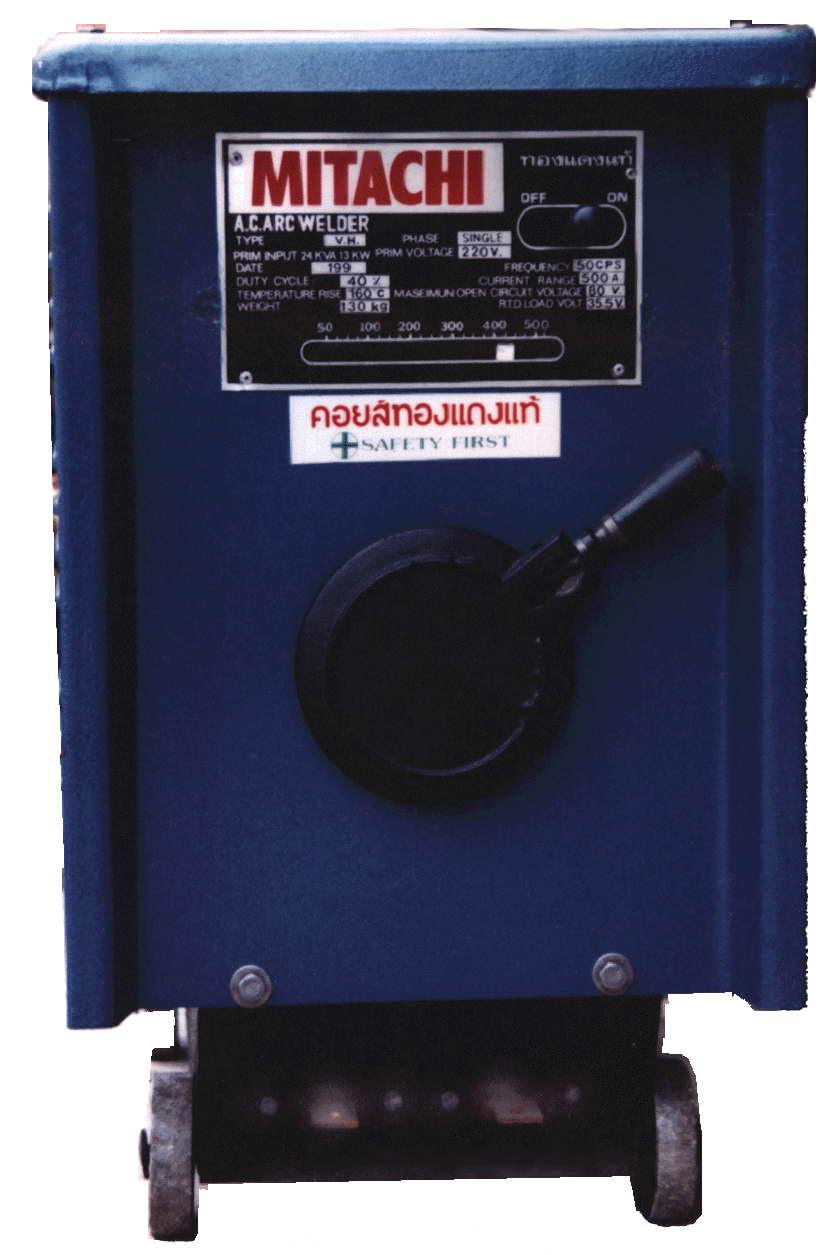ตู้เชื่อมไฟฟ้า mitachi ขนาด 500Amp /OKU-189