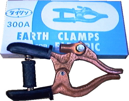 คีมจับสายดิน 300 amp earth clamp/OKU-192