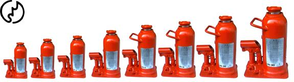แม่แรงกระปุก KOMAKI hydraulic bottle jack/OKU-211