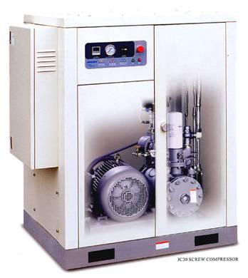 ปั๊มลมสกรู screw air compressor 20 HP/OKU-163