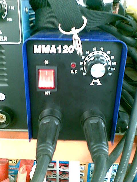 ตู้เชื่อมอินเวอร์เตอร์ inverter welding MMA-120