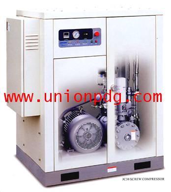 ปั๊มลมสกรู Screw air compressor