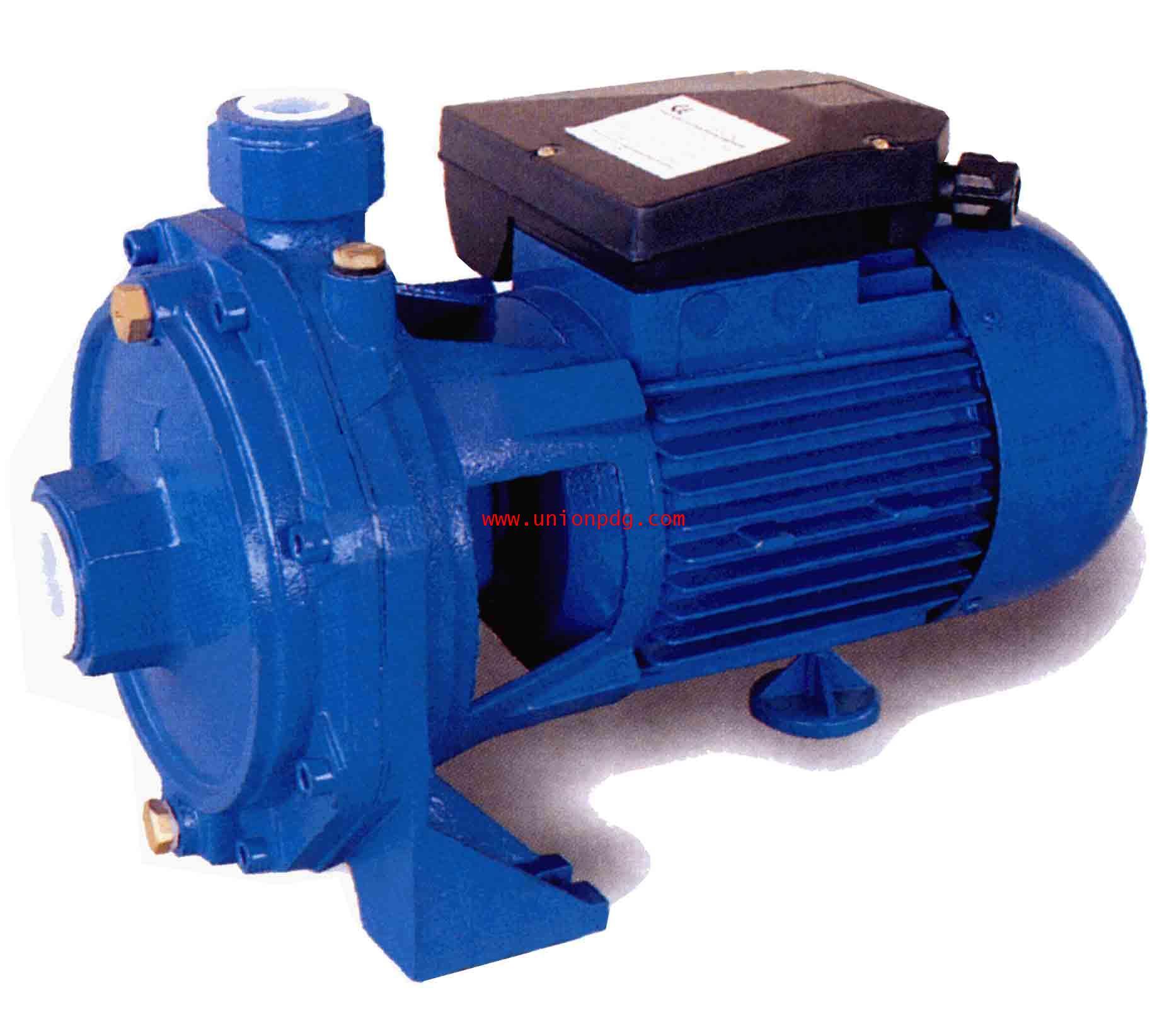 ปั๊มหอยโข่ง แบบสองใบพัด Centrifugal twin impeller pumps