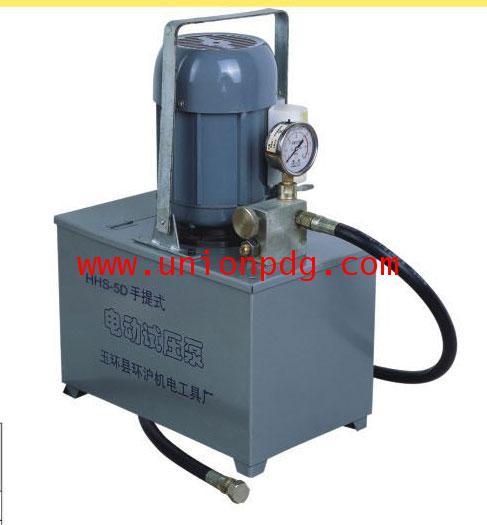 ปั๊มเทสท่อ ปั๊มทดสอบแรงดัน แบบไฟฟ้า Electric Pressure Testing Pumps