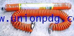 สายลมสปริง Polyurethane Industrial Re-coiled Air Hose