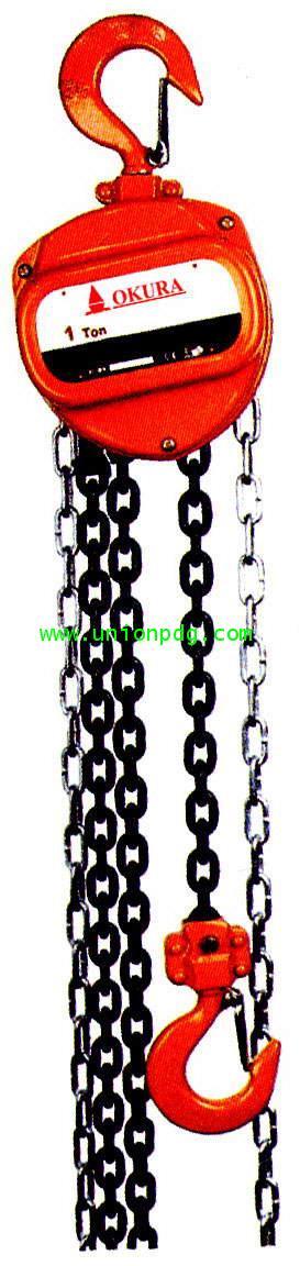 รอกโซ่มือสาว Chain Block Series