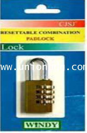 กุญแจแบบใช้รหัส PADLOCK