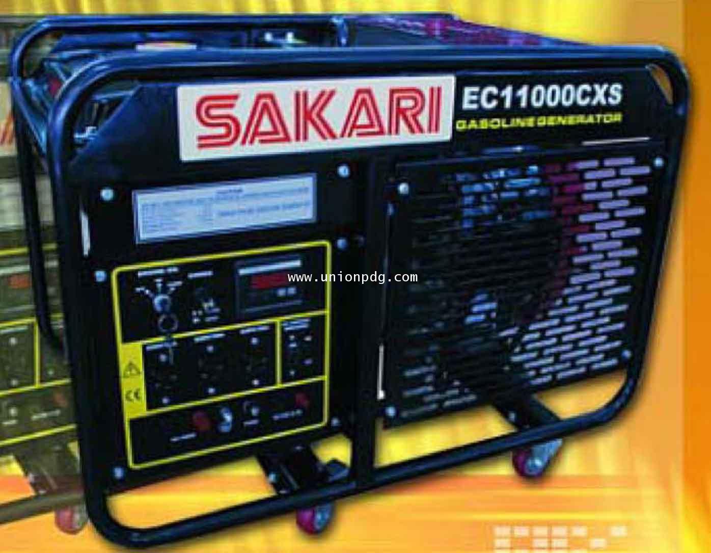 เครื่องกำเนิดไฟฟ้า เครื่องปั่นไฟ 9500 WATT /EC11000CXS