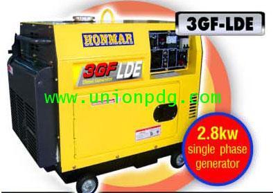 เครื่องปั่นไฟดีเซล เครื่องกำเนิดไฟฟ้าดีเซล 2.8 KW/3GF-LE