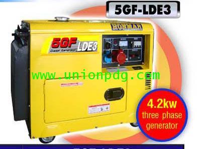 เครื่องปั่นไฟดีเซล เครื่องกำเนิดไฟฟ้าดีเซล 4.2 KW/5GF-LE